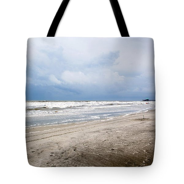 Tote Bag featuring the photograph Before The Storm by Sennie Pierson
