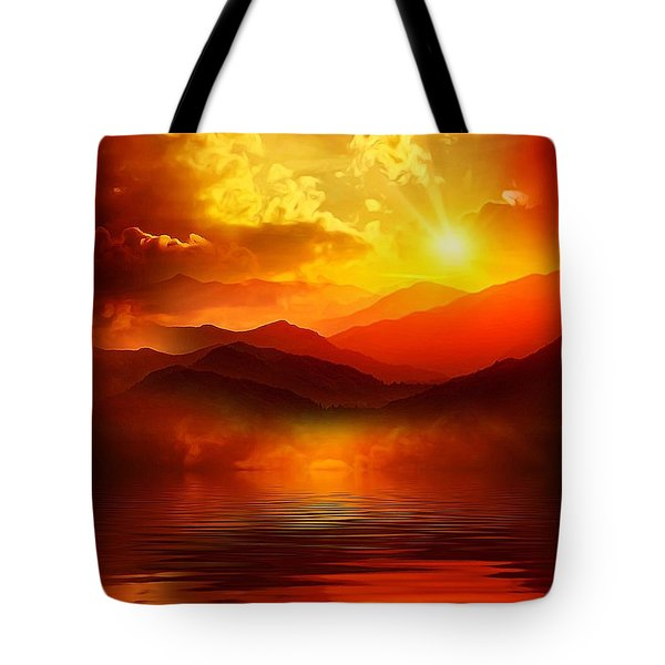 Before The Sun Goes To Sleep Tote Bag