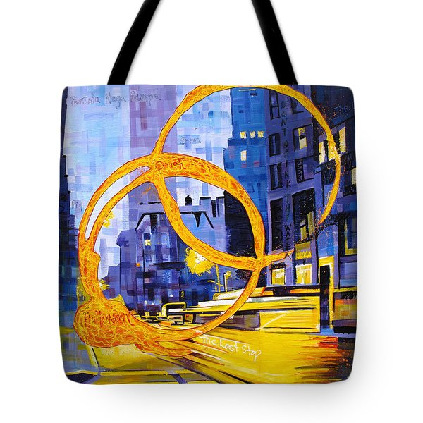 Before These Crowded Streets Tote Bag