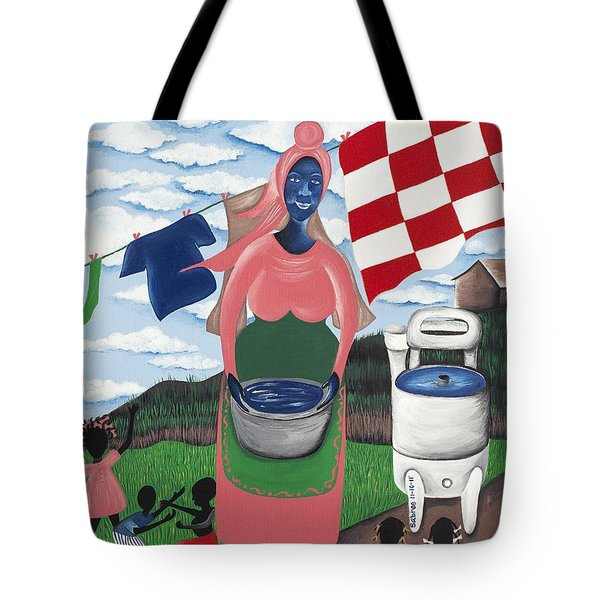 Begin With Them Tote Bag by Patricia Sabree