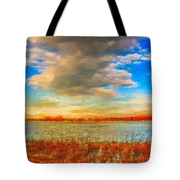 Tote Bag featuring the digital art Beginning Again by Julis Simo
