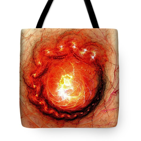 Beginning Of Life Tote Bag by Anastasiya Malakhova