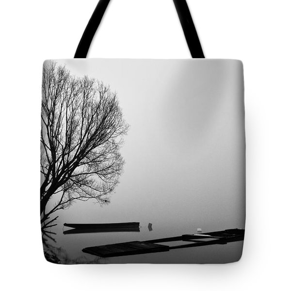 Beginning Of The End Tote Bag