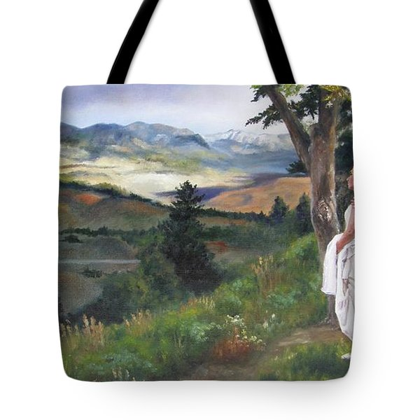 Beginnings Tote Bag by Lori Brackett