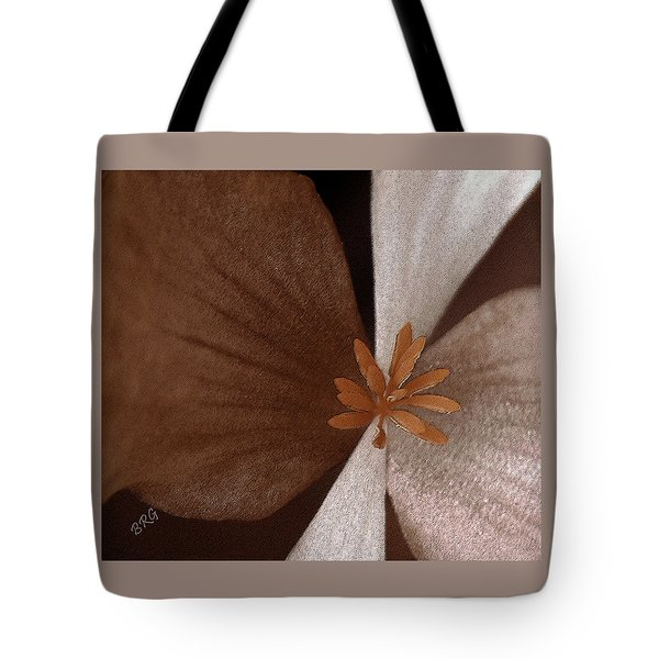 Begonia Tote Bag by Ben and Raisa Gertsberg