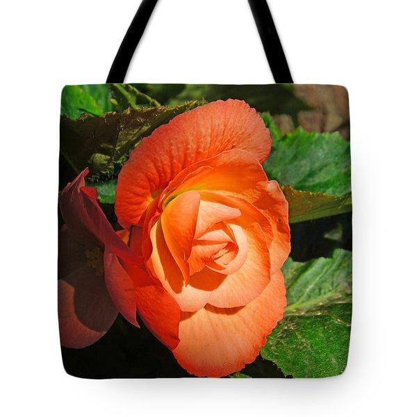 Begonia Tote Bag