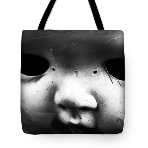 Behind The Eyes Tote Bag by John Rizzuto
