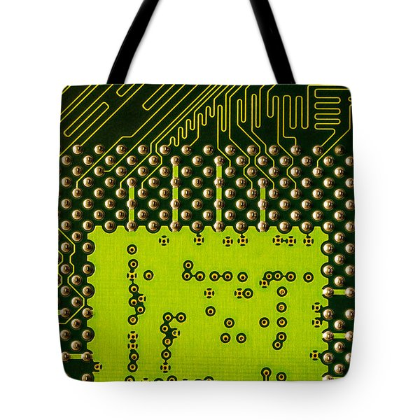 Behind The Processor Socket Tote Bag by Janne Mankinen