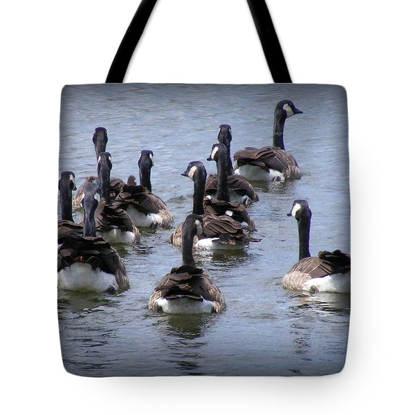 Behind The Scenes Tote Bag by Ed Smith
