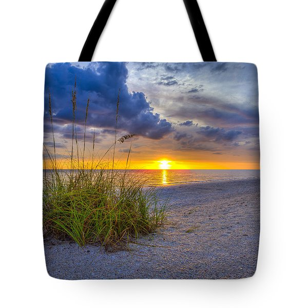 Behind The Sea Grass Tote Bag