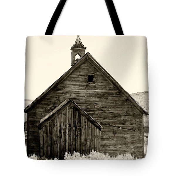 Behind The Steeple By Diana Sainz Tote Bag