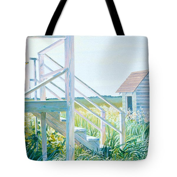 Behind The Town Hall Tote Bag