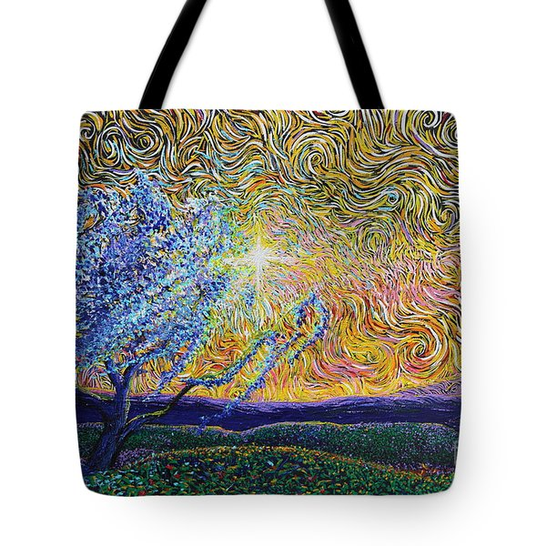 Beholding The Dream Tote Bag
