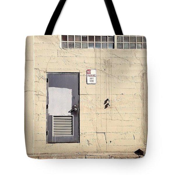 Beige Wall Tote Bag