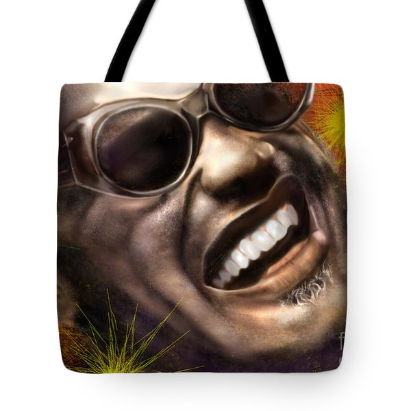 Being Ray Charles1 Tote Bag