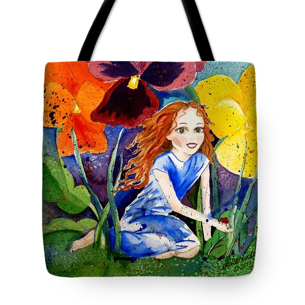 Tiny Flower Fairy Tote Bag