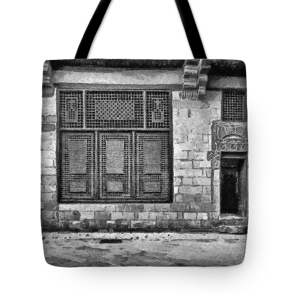 Beit El Harrawi II Tote Bag by George Rossidis