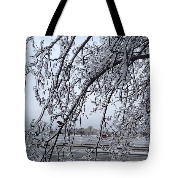 Bejewelled Branches Tote Bag by Pema Hou