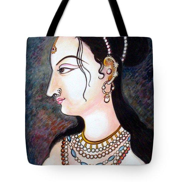 Bejewelled Tote Bag by Harsh Malik
