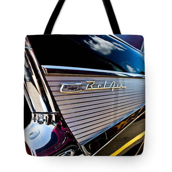 Tote Bag featuring the photograph Bel Air Reflections by Joann Copeland-Paul