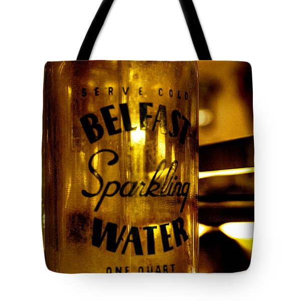Belfast Sparkling Water Tote Bag by David Patterson