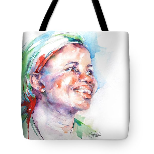 Believe Tote Bag by Stephie Butler
