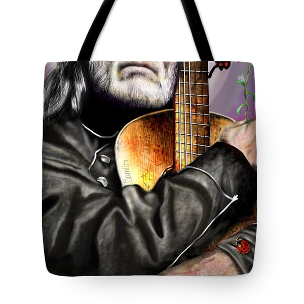 Believing In Rainbows And Butterflies-being Willie Tote Bag