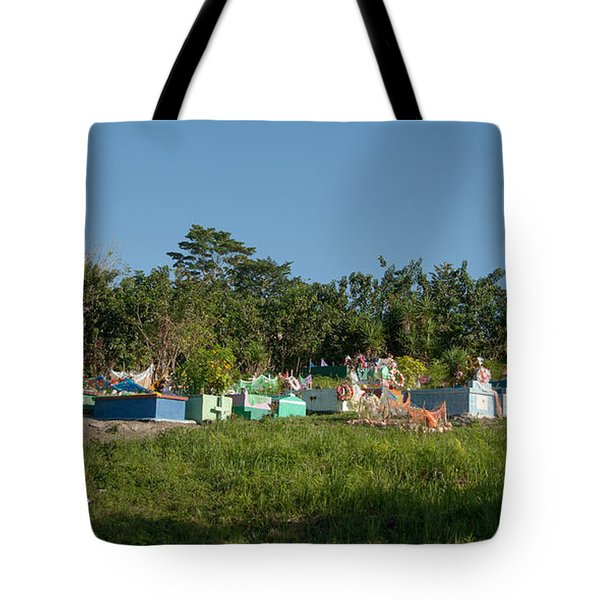 Belize Cemetery Tote Bag