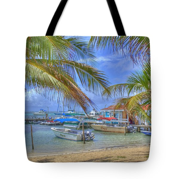 Belize Hdr Tote Bag