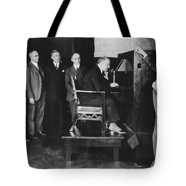 Bell Labs Talks To Hoover Tote Bag