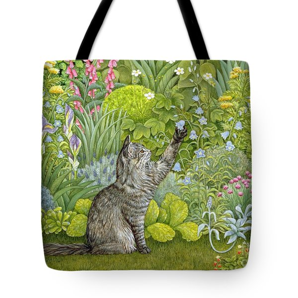 Bell Ringing Tote Bag by Ditz