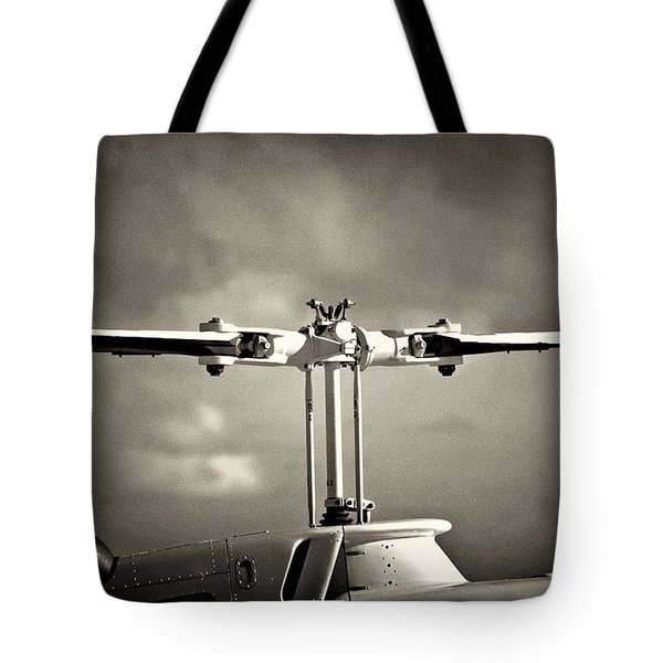 Bell Rotor Tote Bag by Patrick M Lynch