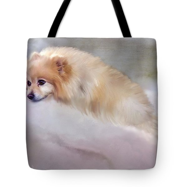 Bella Boo Tote Bag by Colleen Taylor