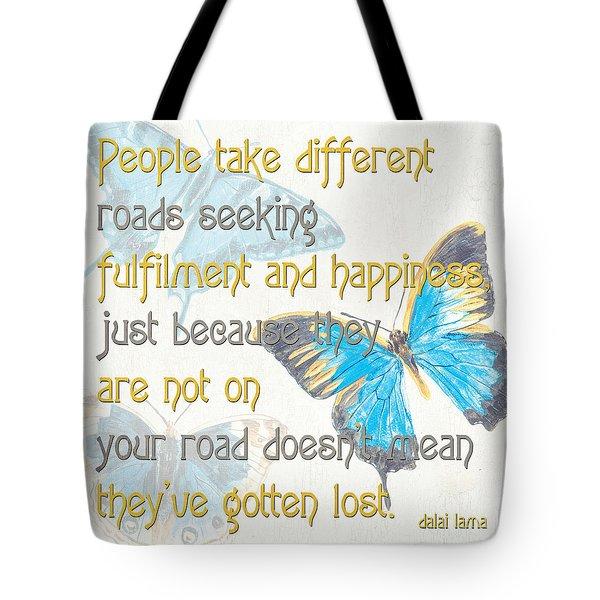 Bella Butterflies 2 Tote Bag by Debbie DeWitt