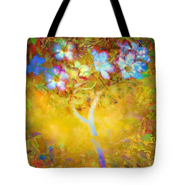Bella Flora-tropicala Tote Bag by Darla Wood