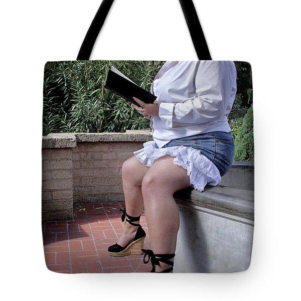 Belladonna Divine 1-1 Tote Bag by David Miller