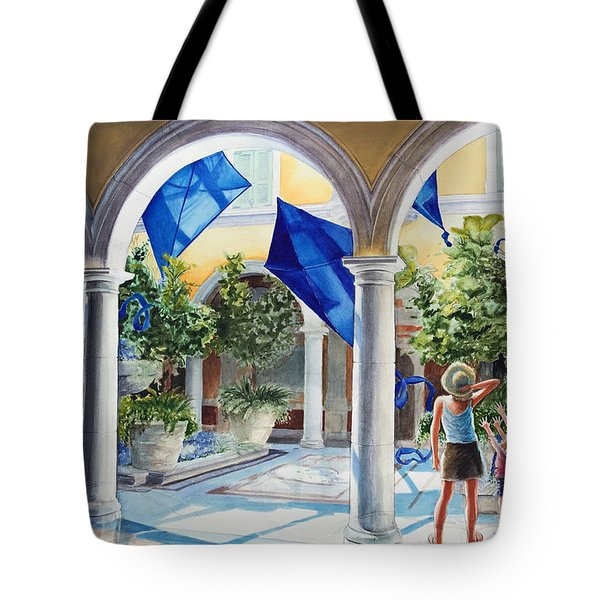 Bellagio Kite Flight Tote Bag
