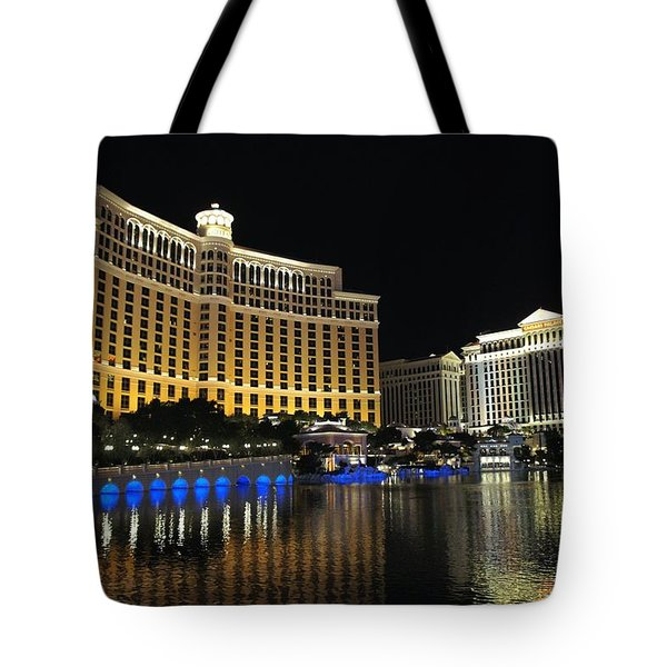 Bellagio Nights 2 Tote Bag by Jenny Hudson
