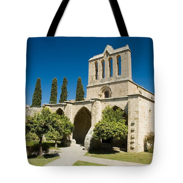 Bellapais Abbey Kyrenia Tote Bag