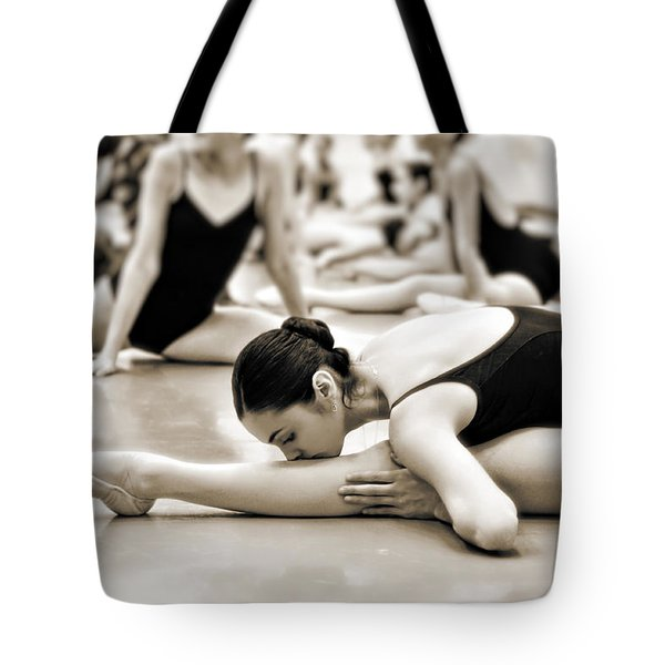 Belle Ballerina Tote Bag