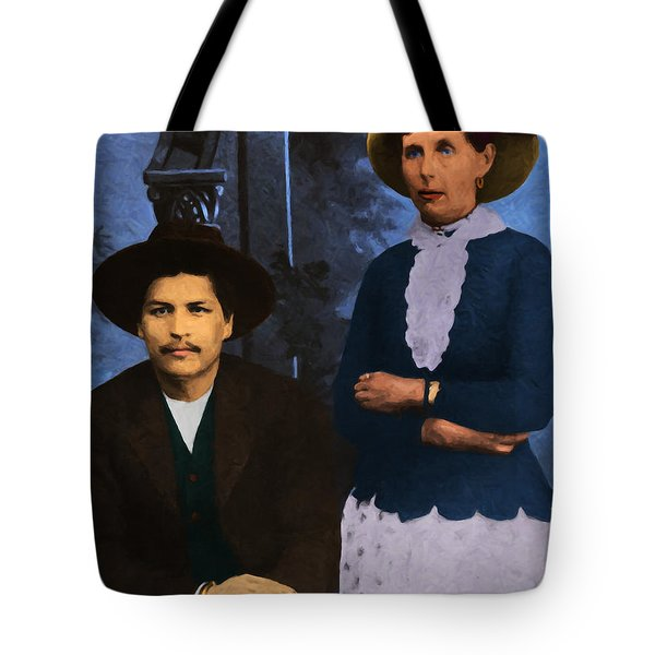 Belle Starr And Blue Duck 20130514 Tote Bag