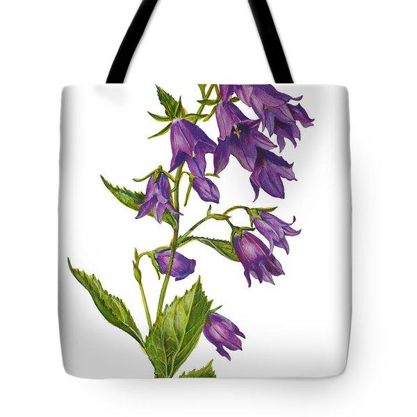 Bellflower - Campanula Tote Bag