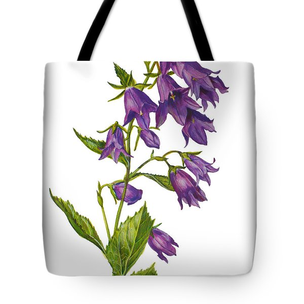 Bellflower - Campanula Tote Bag