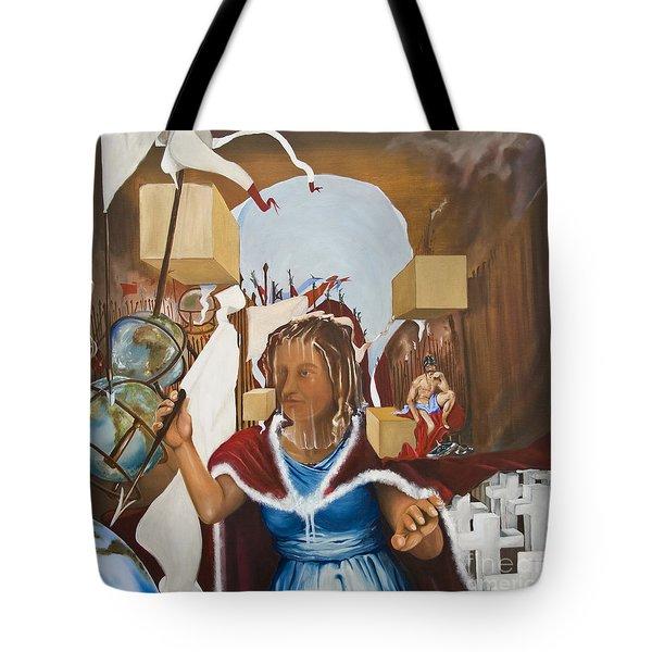Bellona Goddess Of War Sister Of Mars Tote Bag