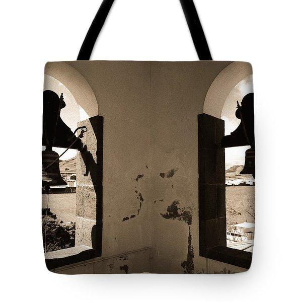 Bells Tote Bag by Gaspar Avila
