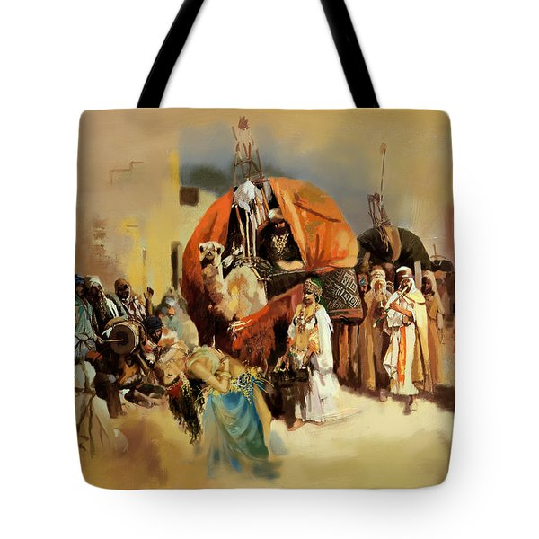 Belly Dancer Caravan Tote Bag by Corporate Art Task Force