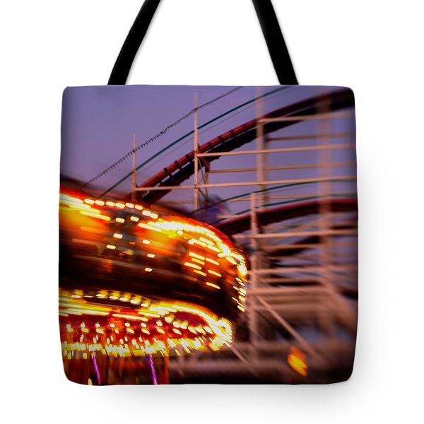 Did I Dream It Belmont Park Rollercoaster Tote Bag