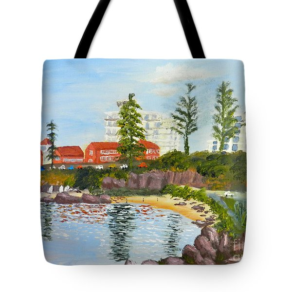 Belmore Basin From The North Sea Wall Tote Bag