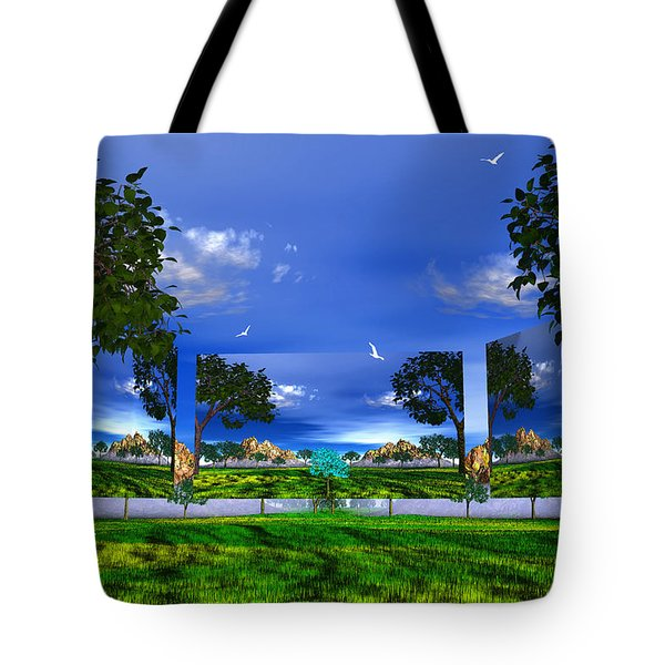 Belonging Tote Bag by Mark Blauhoefer