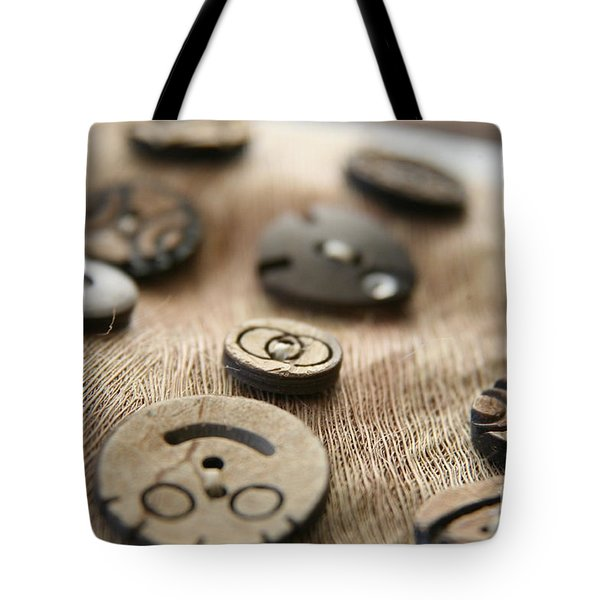 Beloved Buttons  Tote Bag by Lynn England